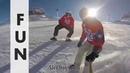 Sled Dogs Snowskates New sport on the slopes