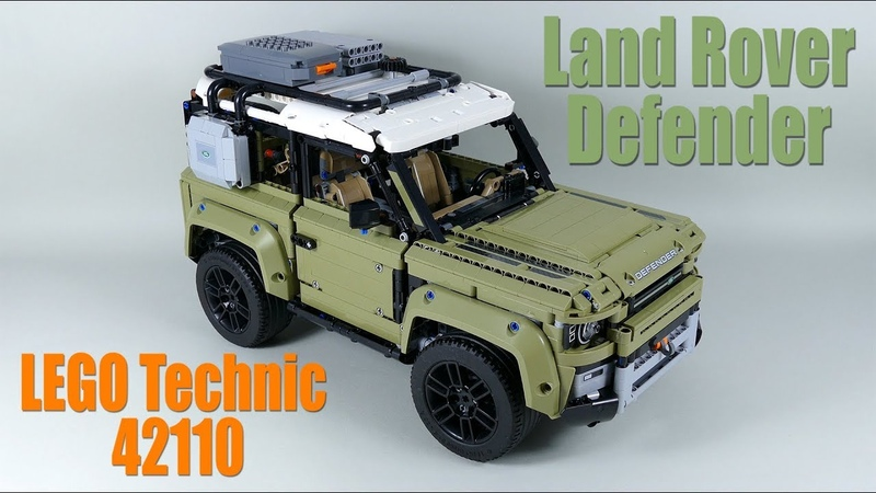 LEGO Technic Land Rover DEFENDER 42110 Review