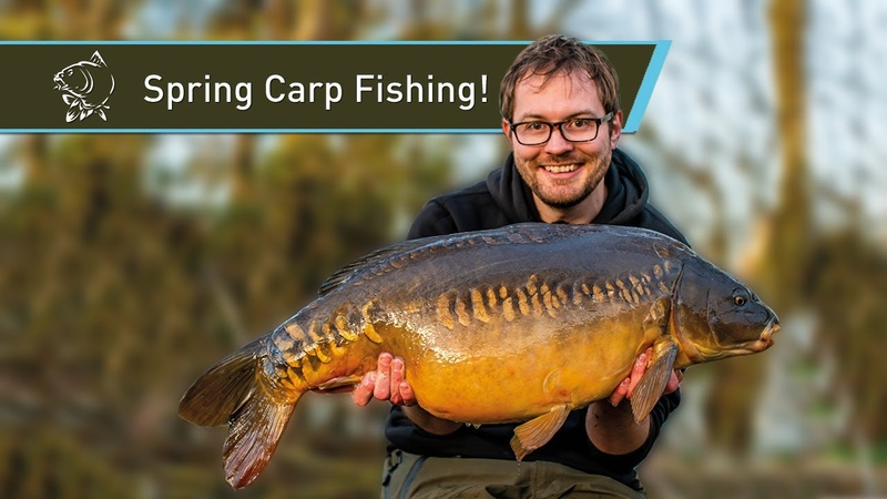 Spring Carp Fishing at Linear Fisheries