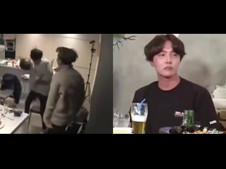 thinking about how yoongi is a loud drunk and hoseok is a quiet drunk