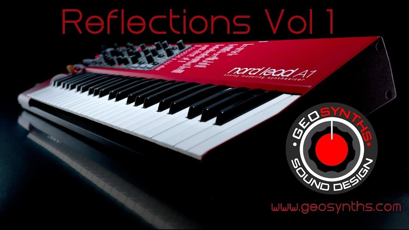 Nord Lead A1 Patches 1 to 33 Reflections Vol 1