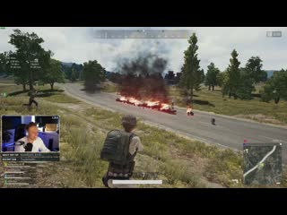 Exploding gas can chain | pubg