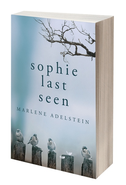 Book cover Sophie Last Seen