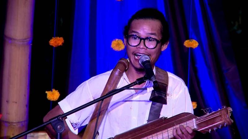 Performance a never before seen instrument Rizal Abdulhadi TEDxUbud