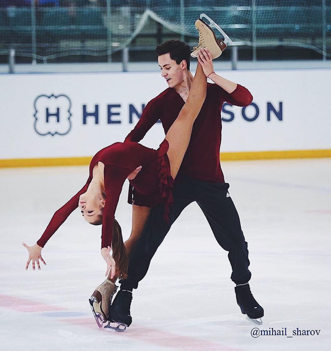 Анастасия Шпилевая - Григорий Смирнов/ танцы на льду - Страница 15 SsvQf5j1fJk