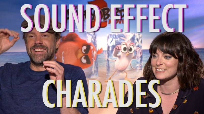 The cast of The Angry Birds Movie 2 take on Sound Effect Charades 🔉