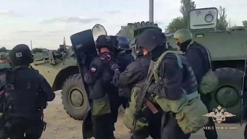ВВолгоградской области удалось задержать банду грабителей Новости Первый канал