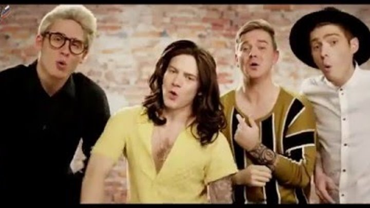 One Direction - History PARODY! Key of Awesome 106 (RUS SUB)