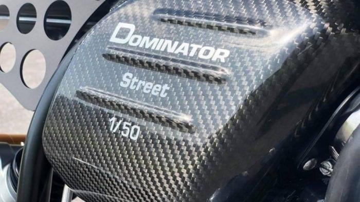 Norton выпустят лимитированный мотоцикл Dominator Street LE