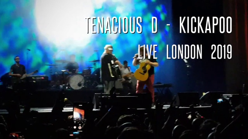 Tenacious D Kickapoo Live London 2019 Wembley Arena SSE Second Gig 2 06 2019
