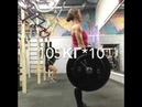 Work with the barbell Mary Buran