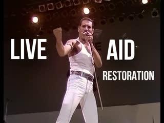Queen   live aid 1985   defenitive restoration