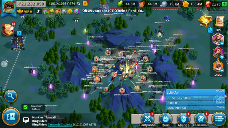 PT BR Rise of Kingdoms Lost Crusade QNA