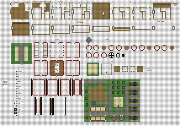 арт строения для майнкрафт схемы план скриншоты файл schematic