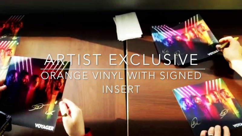 Voyager - Artist Exclusive Orange vinyl now available