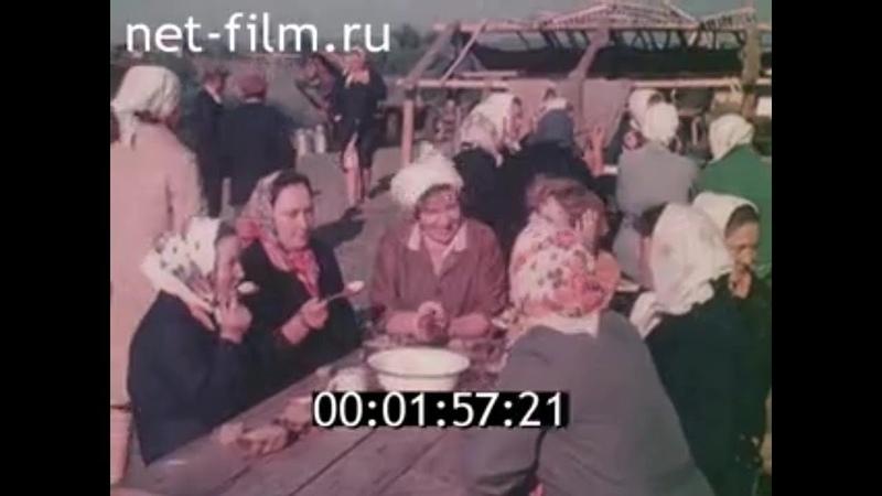 1984г село Дмитриевы Горы Колхоз Большевик Меленковский район Владимирская обл
