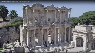 EFES ANTİK KENTİ, Havadan Drone çekimleri (EPHESUS)  Selçuk İzmir TURKEY