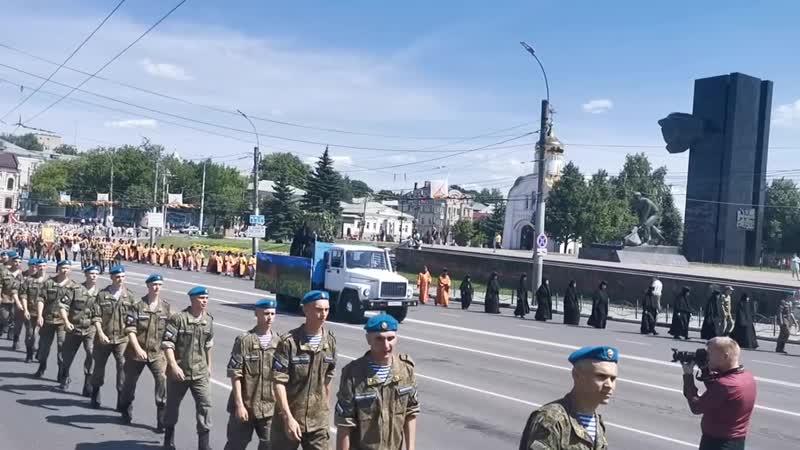 Собор Иваново-Вознесенских святых. Крестный ход