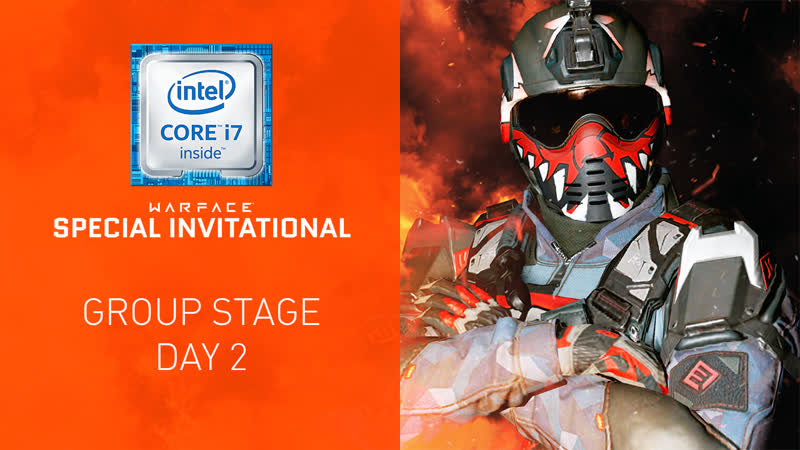 Warface Special Invitational Group Stage Day 2
