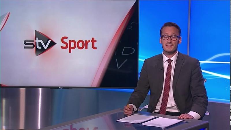 Ben Philip STV News at Six Duncan Scott Interview