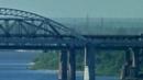 Автомобильный и железнодорожный мост через Волгу около Нижнего Новгорода