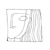 Логотип дуэт чб