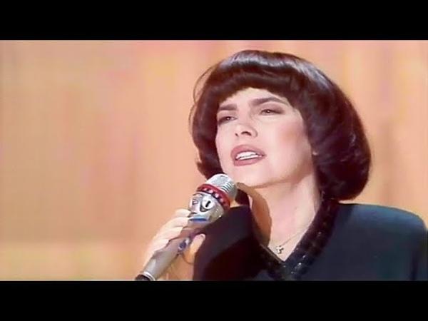 Mireille Mathieu Je Me Parle De Toi Dimanche Martin 1989