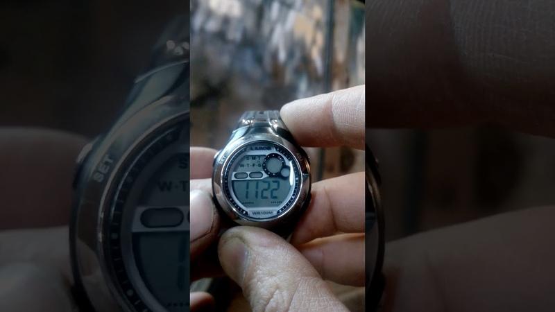 Инструкция к наручным электронным часам LAROS
