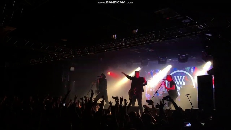 WHILE SHE SLEEPS - ANTI-SOCIAL (breakdown) SPb club ZAL