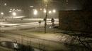 HD футаж 24 в моём городе снег