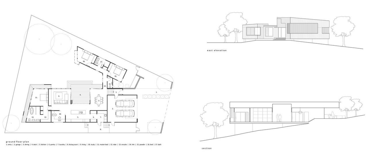 Trickett / Shaun Lockyer Architects / Brisbane QLD, Australia