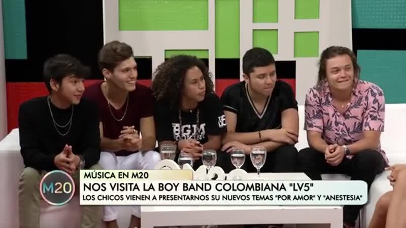 LV5 la joven banda colombiana que hace furor en Latinoamérica