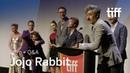 [SPOILERS] JOJO RABBIT Cast and Crew QA | TIFF 2019