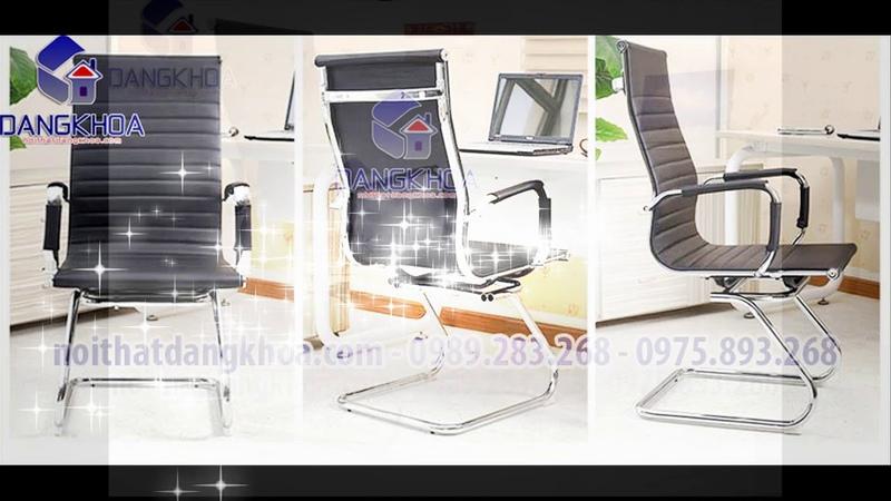 Ghế chân quỳ da lưng cao GVPDK01 tại nội thất văn phòng Đăng Khoa