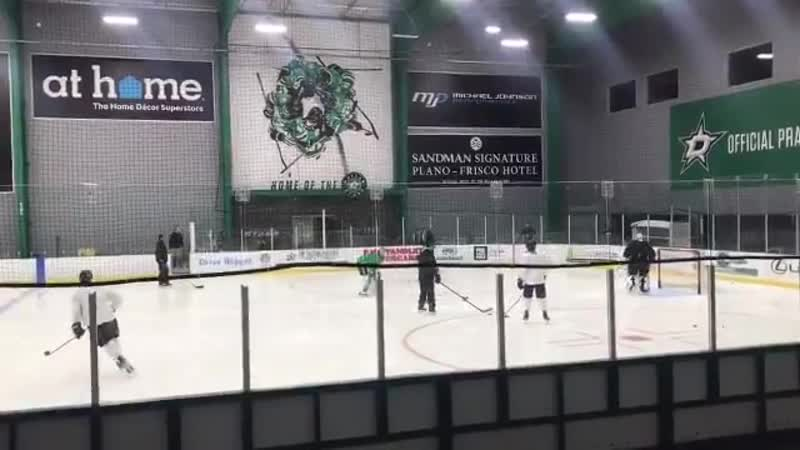 Stars training camp starts with Group 1 in Frisco.