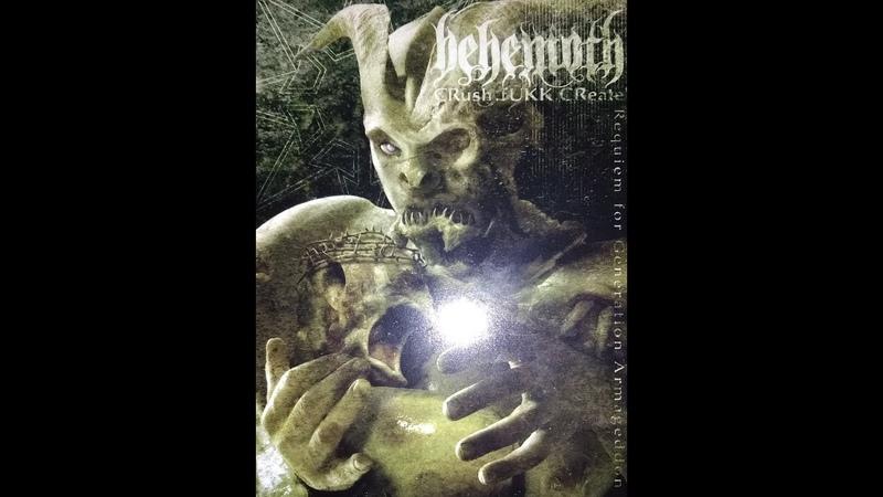 BEHEMOTH - CRush.fUKK.CReate: Requiem for Generation Armageddon - LIVE DVD