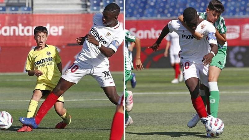 Ibrahima Sow ● 12-YEAR-OLD Wonderkid | Skills Goals 2019
