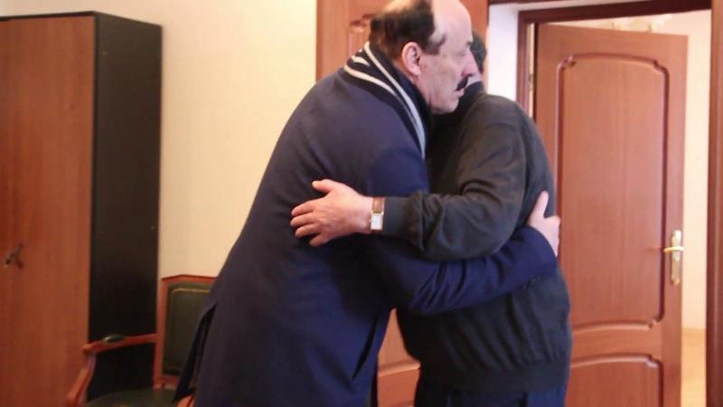 Встреча М Г Рахимова с Р Г Абдулатиповым