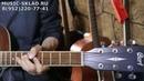 Обзор электроакустической гитары Cort AD880CE NS