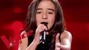 Johnny Hallyday Vivre pour le meilleur Inès The Voice Kids France 2018 Demi finale
