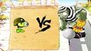 Gatling Pea vs 9 999 Giga Gargantuar Plants vs Zombies Battlez