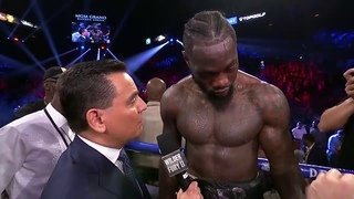 Deontay Wilder Post Fight Interview vs Fury | 22nd Feb 2020