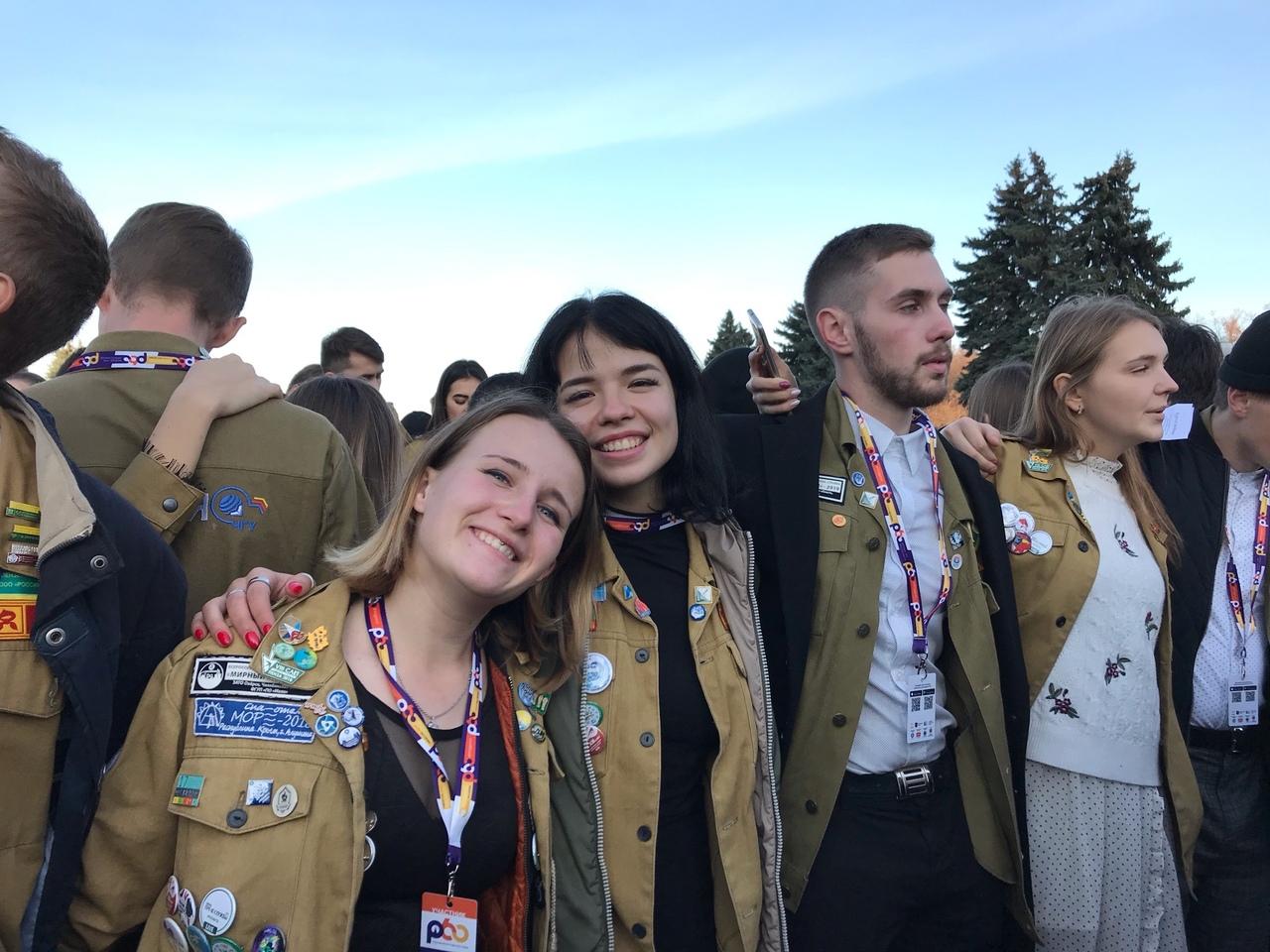 Спевка студенческих отрядов
