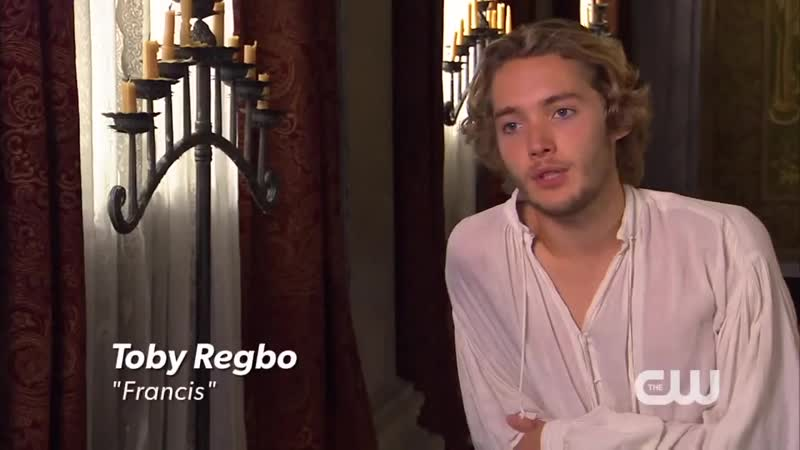 Reign / Toby Regbo - Interview 2013 (1)