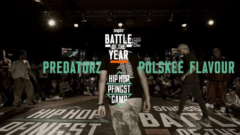 Predatorz vs Polskee Flavour | 3vs3 Semifinal | Hip Hop Pfingstcamp X Snipes BOTY CE 2019
