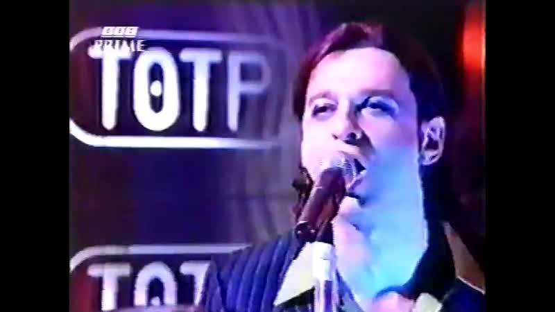 Depeche Mode Top Of The Pops BBC Barrel Of A Gun feat Anton Corbijn on drums and Tim Simenon on keybord 14 02 1997