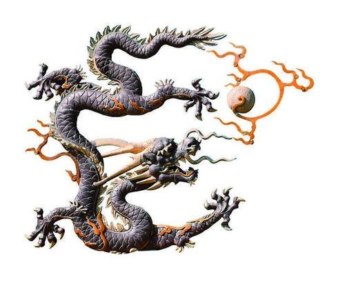 Китайские драконы: история любви.