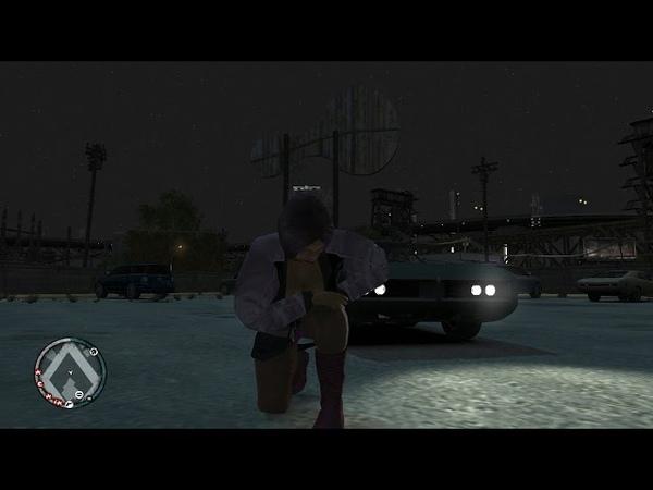 Играем GTA 4 и EFLC Снимаем Проституток