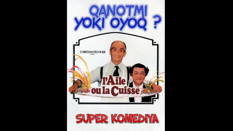 Qanotmi yoki oyoq Uzbek tilida 1975 O'zbekcha tarjima kino HD