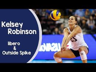The best of kelsey robinson (libero outside spiker)